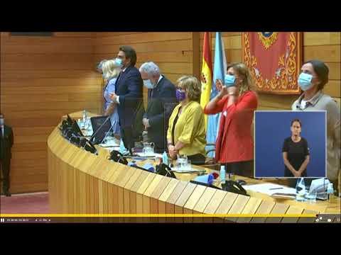 Sesión constitutiva del Parlamento de Galicia 7 8 20