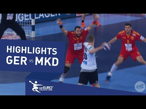 Highlights | Germany vs Macedonia | Men's EHF EURO 2018 HD