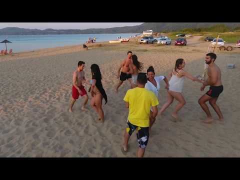 Fun Rueda de Casino on the Beach - Summer 2017 (Ρhantom 4 Dji)