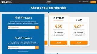 Crear Cuenta En SamMobile y Descargar Una ROM/Crear Cuenta En SamMobile Gratis
