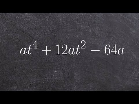 Factoring A Polynomial Raised To The 4th Power