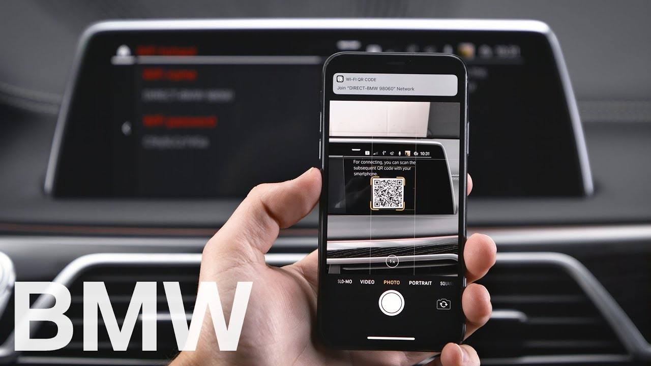 How To Connect To Your Bmw S Wifi Hotspot Bmw How To Youtube