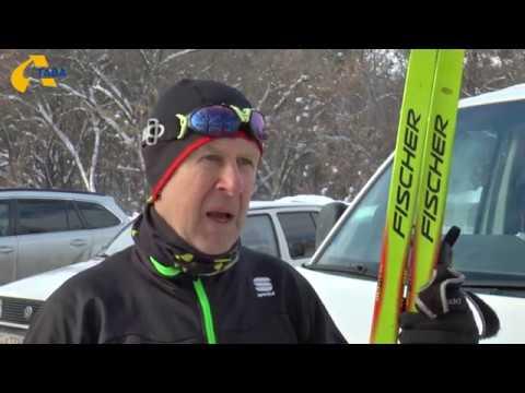 Телеканал Лтава: Полтавський 72-річний лижник готується до чемпіонату України