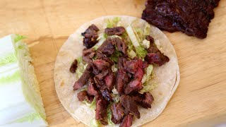 Easy Asian Carne Asada Tacos Recipe by SAM THE COOKING GUY