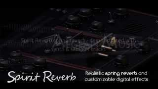 Spirit Reverb Audio Effect Plugin Synth and Sampler Demo From Aegean Music