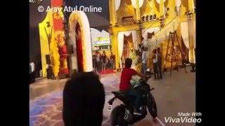 Download Hindi Video Songs - Atul sir's Zingaat Entry : Exclusive Unseen backstage rehearsal Zee Gaurav 2016