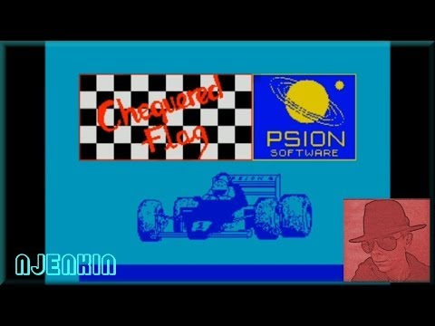 Chequered Flag - on the ZX Spectrum 48K !  with Commentary