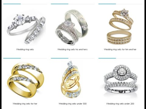 WEDDING RING SETS FOR HIM AND HER IDEAS