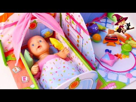 Bebe Y De Zona Juego Con Casa Cuna Youtube Juguetes xoeBrdCEQW