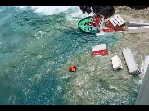 ทร.ภ.3ช่วยลูกเรือบรรทุกสินค้าล่มทะเลภูเก็ต