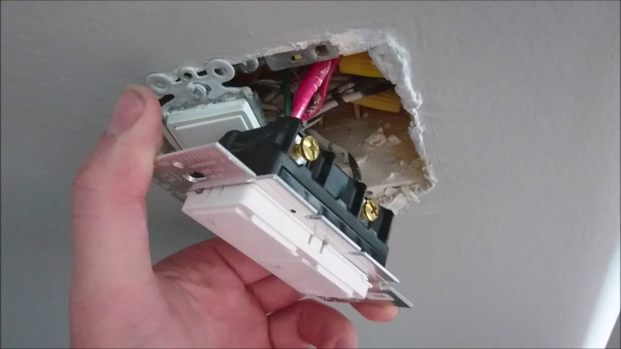 HOW TO WIRE A LUTRON MAESTRO FAN AND LIGHT SWITCH AND MODULE - YouTube