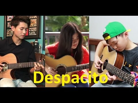 Despacito Luis Fonsi, Daddy Yankee ft Compilation Sean, Josephine Alexandra, Andrew Foy