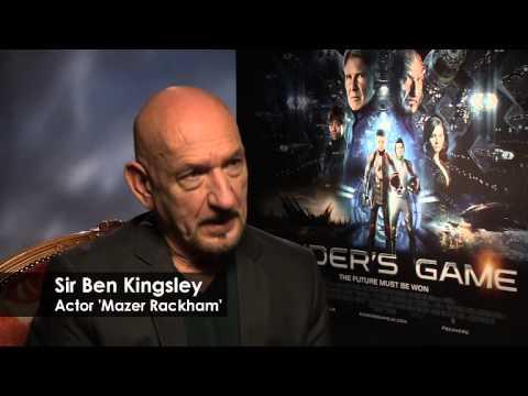 Ender's Game Interviews — Asa Butterfield, Hailee Steinfeld, Ben Kingsley, Gavin Hood