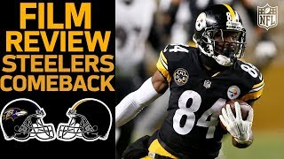 How the Steelers Completed their Comeback vs. the Ravens | Film Review | NFL Network