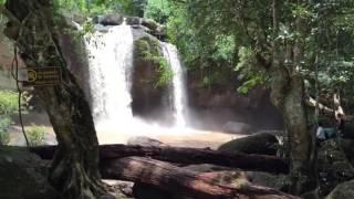 Тайланд. Водопад из фильма