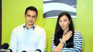 Entertainment News - Jonas Rivano dan Asmirandah gelar jumpa wartawan