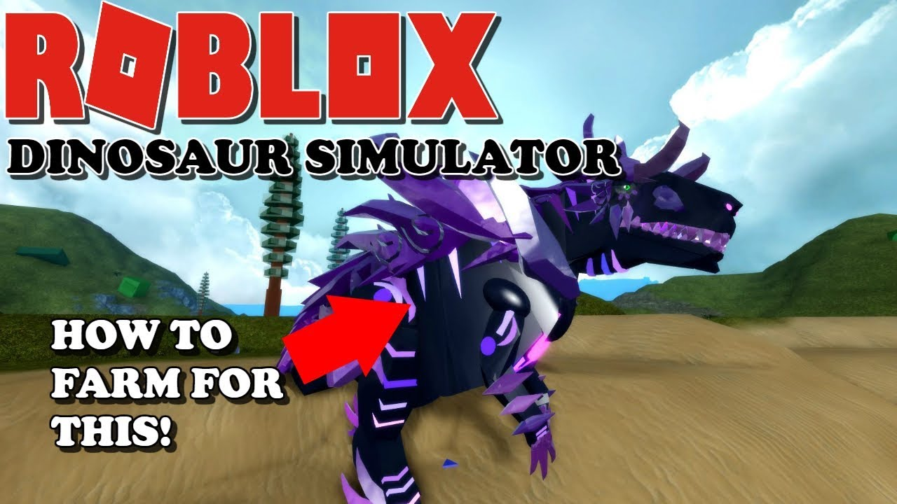 Roblox Dinosaur Simulator How To Farm For The New Skins Youtube