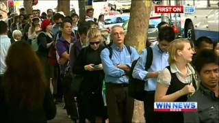 Nine News Sydney - Interview with Incoming Sydney Trains CEO, Howard Collins (18/3/2013)