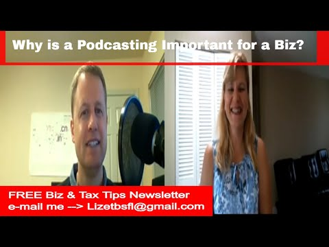 Why is podcasting import for a business (Andrew Alleman) Ep 5 expert guest