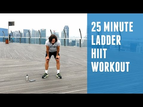 25 Minute Ladder HIIT Workout | Awesome Fat Burner You Can Do At Home