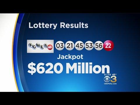 Winning Numbers Drawn For $620 Million Powerball Jackpot