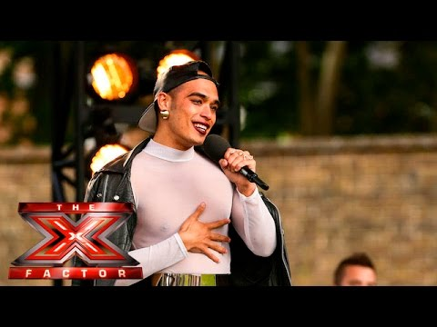 Seann Miley Moore has a gift for the Judges | Boot Camp |  The X Factor UK 2015