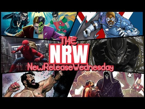 THE #NRW! NYCC! Spider-man! #BatmanTwoFace! Unstoppable Comics! @TheNRW