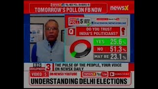 NewsX discusses Facebook survey results on Lok Sabha 2019 elections