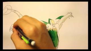 How To Draw Ripjaws From Ben 10 Aliens Force