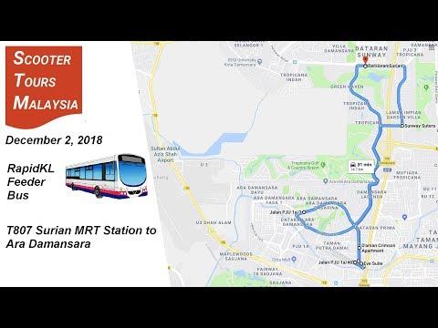 MRT  Feeder: T807 MRT Surian to Dataran Ara Damansara