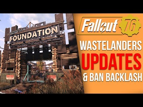 Fallout 76 News - Major New Wastelanders Update, Ban Wave Leads to Retaliation