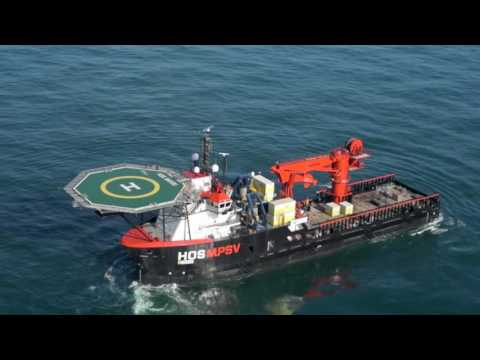 Delta SubSea - US Flagged IMR Vessel  -  HOS Bayou Video