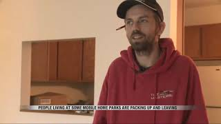 News   Fargo man finds new home after mobile home park bought by new company