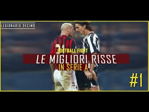 Risse in serie a - football fights / best angry moments