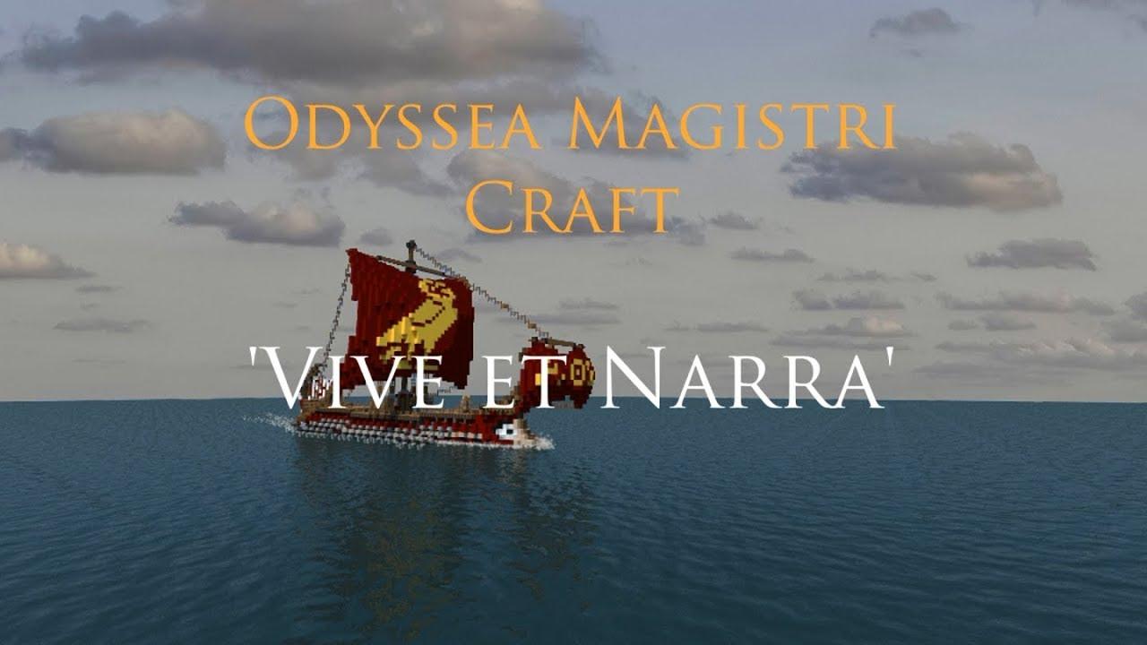 Odyssea Magistri Craft (Magister Craft's Odyssey) - 5 - Vive et Narra