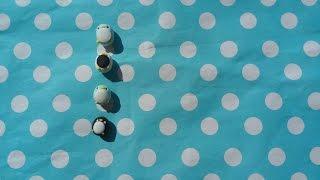 粘土教学可爱企鹅