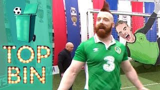 Top Bin | Sheamus & Ray Wilkins take on the challenge