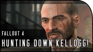 Fallout 4 Gameplay Walkthrough Part 21 HUNTING DOWN KELLOGG, LEGENDARY WEAPON ENEMY, FORT HAGEN