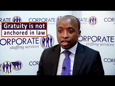 Gratuity Pay In Kenya - The Law & Best Practice