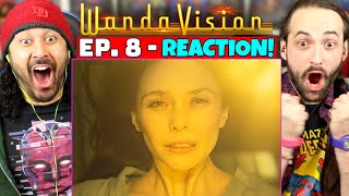 WANDAVISION EPISODE 8 REACTION!! (1x8 Breakdown | Spoiler Review | Ending & Post-Credits Explained)