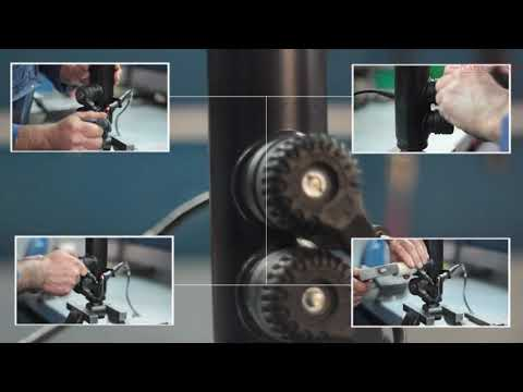 "Regeneration of shock-absorber from BMW ""8"" E31 with EDC"