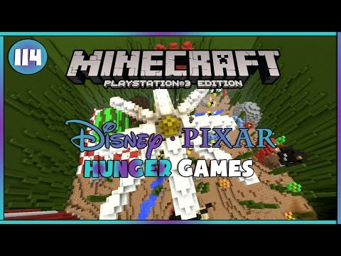 Minecraft PS3 - Hunger Games [114] Disney Pixar