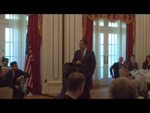 Sen. Cruz's Remarks at the Commercial Space Forum - March 22, 2017