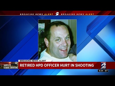 Retired HPD officer hurt in Santa Fe...