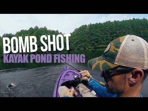 Bomb Shot Kayak Pond Fishing - John Crews