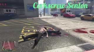 Repeat youtube video #5 GTA 5 Wrestling And Street Fighting Like in WWE ( AA , Fame asser , F5 , Shooting star press ...)