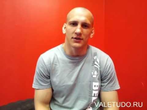 ValeTudo.ru интервью Василевского перед боем с Фалькао