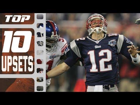 Top 10 Upsets In NFL History! | NFL Films