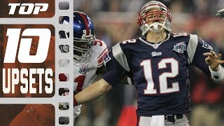 Top 10 Upsets in NFL History! | NFL Films