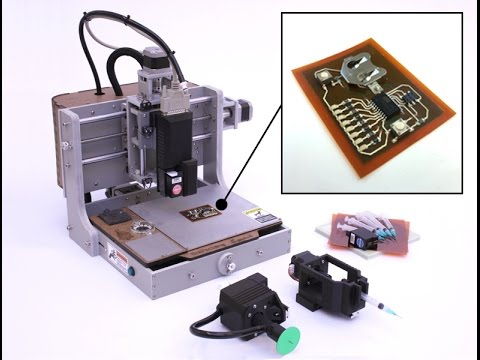 Print Multilayer circuits with BotFactory Squink PCB Printer